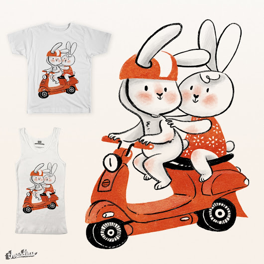 Ride with me on Threadless