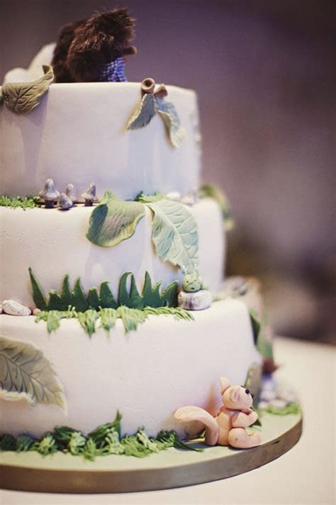 Enchanted Forest Cake   How to Throw a Fairy Tale Wedding
