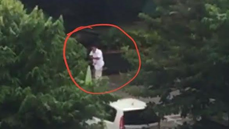 Pria Berbaju Putih Berpakaian Perlente Bukan Pelaku Teror, Tapi Aparat Keamanan