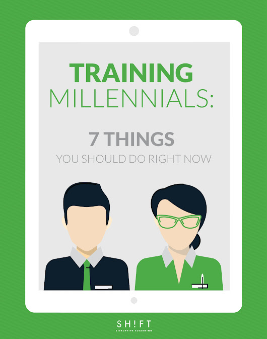Training Millennials: 7 Things You Should Do Right Now