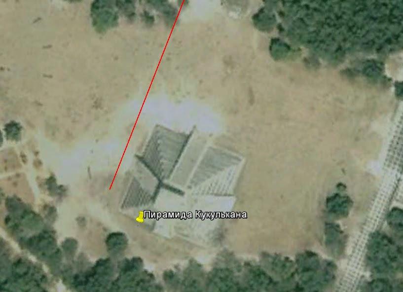 Пирамида Кукулькана ориентирована на 3-й полюс