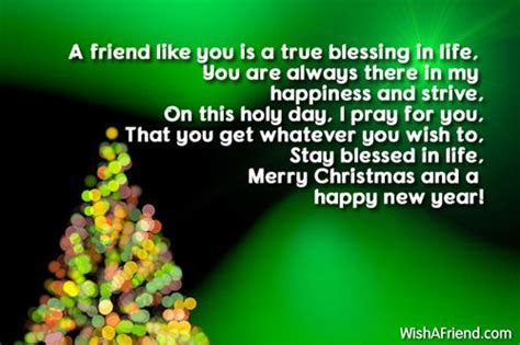A Friend Like You Is A True Blessing In Life .Merry