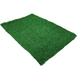 """Replacement Synthetic Grass Pet Dog Potty Patch Pee Grass Pad For Regular Dog Potty Pad (19"""" x 12"""" pad)"""