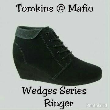 Jual Sepatu Wedges Tomkins Hari Sabtu a8464773cd