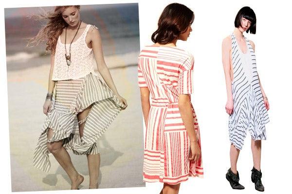 How To Wear Stripes- Striped Womens Fashion 2011