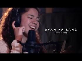 Dyan Ka Lang by Sassa [Official Lyric Video]