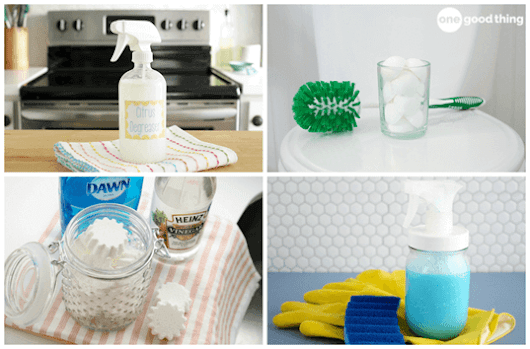 13 Of The Very Best Homemade Cleaners You Can Make - One Good Thing by Jillee