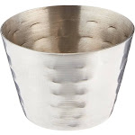 American Metalcraft HAMSC 2 oz. Hammered Sauce Cup