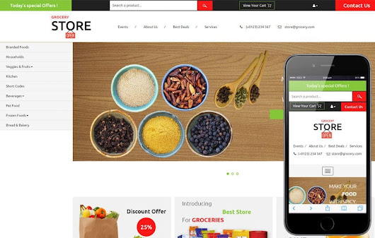 Grocery Store a Ecommerce Category Flat Bootstrap Responsive Web Template