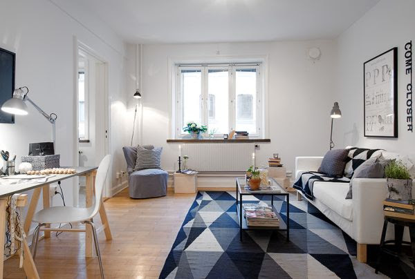 Tiny Apartments Interior Design