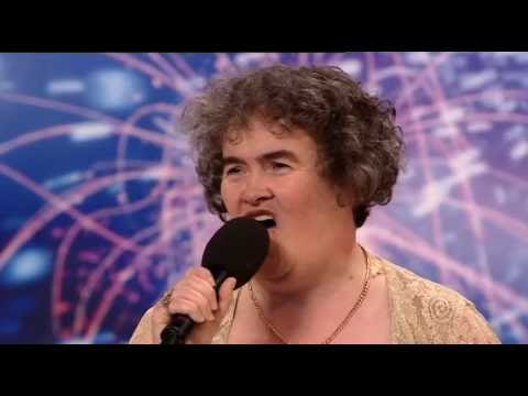 Susan Boyle inspired me to be the next Susan Boyle.