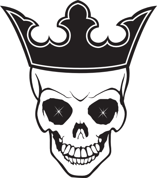Skull And Crown Tattoo Transparent Png Stickpng