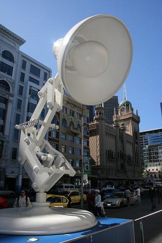 pixar lamp logo. Pixar lamp at NGV by nev stott