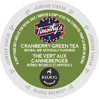 Timothy's Cranberry Twist Green Tea K-Cups - 24 count