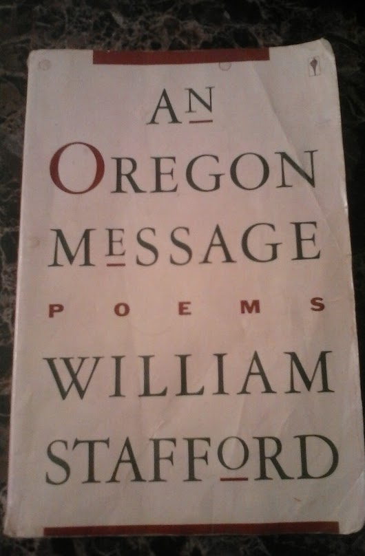 William Stafford Weekend, Part 2
