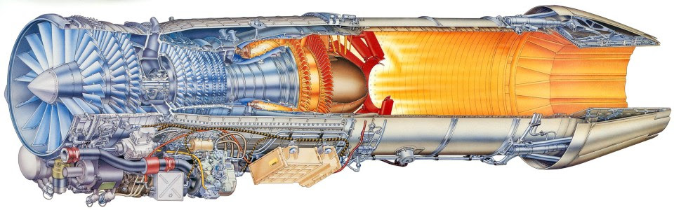 O motor GE F414 é uma evolução do famoso F404