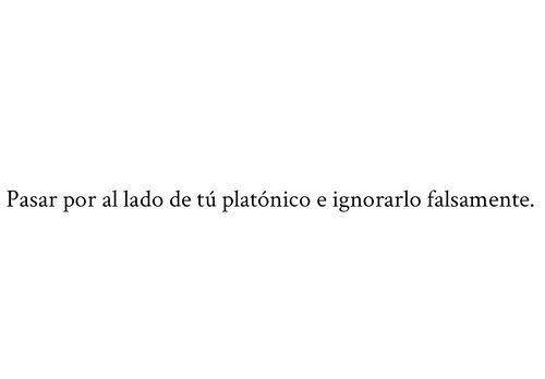 Platonico Amor Espacio De Manol