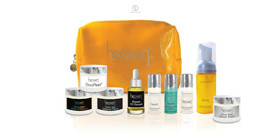 Win a Bee Revived Skincare Set from Heaven Skincare | Life in a Break Down