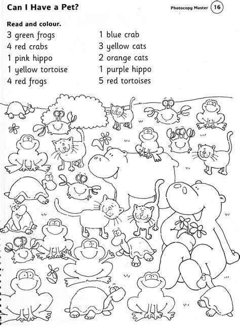 animals worksheets  kindergarten brandonbrice