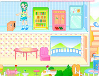 Doll House Decorating Girl Games