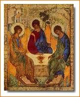 L'Icône de la Trinité d'Andrei Rublev