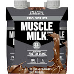 Muscle Milk Pro Series Protein Shake - Knockout Chocolate - 4ct