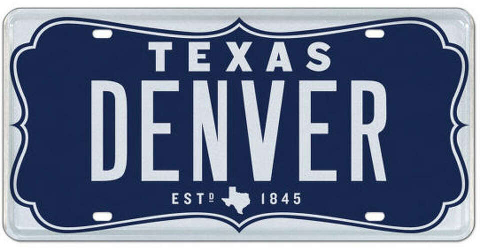 This custom Texas license plate is up for auction through ...