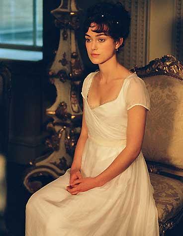Keira Knightley dans Pride & Prejudice (2005)
