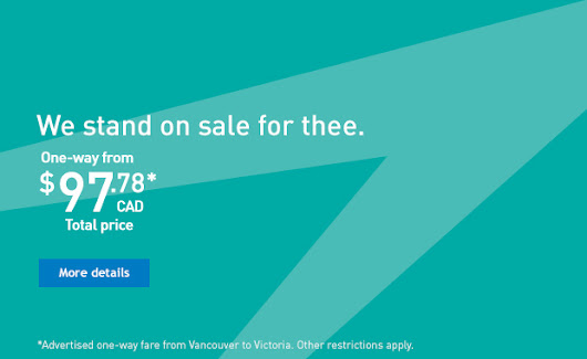 Travel deals to Canada, USA, Hawaii and Caribbean - WestJet