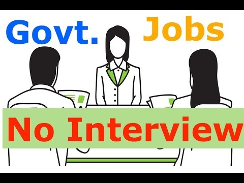 No Interview for Group B  and Group C posts in the Central Government of...
