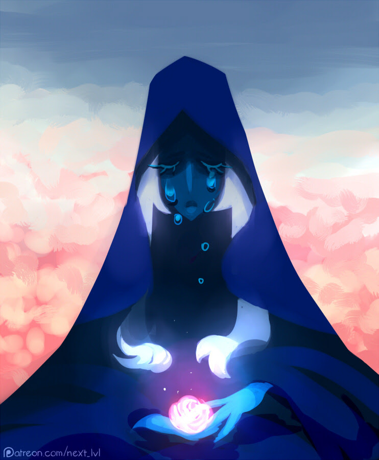 Blue Diamond, as voted for by my patrons a few months ago. I almost cleared my current to do list, feelsgoodman.