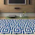 The Dalyn Infinity Collection features the same polyacrylic construction as Dalyn's best-selling Studio Collection, and utilizes shades of gray with splashes of color.  Colors range from blue and lime to yellow and orange, in geometric designs. Infinity has 16 rugs and features 5 designs.