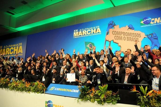 Marcha dos Prefeitos em Brasília começa nesta segunda-feira (8)