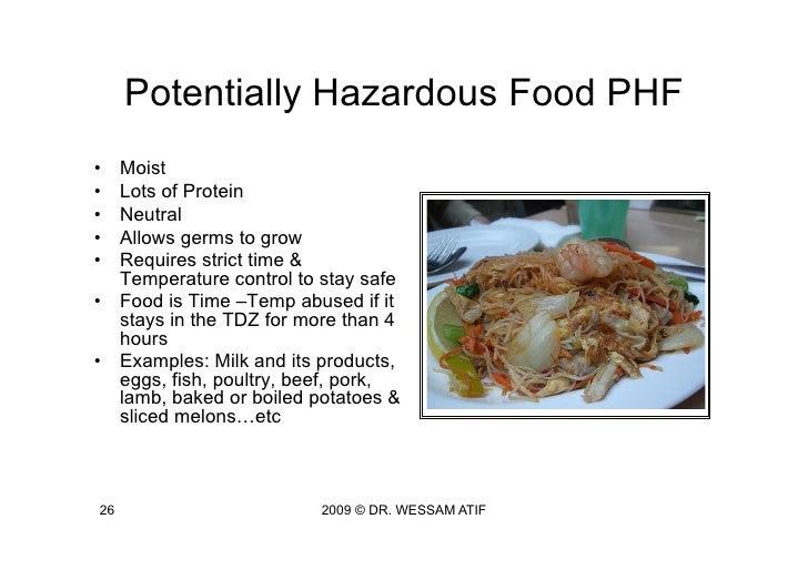 HACCP by Dr. Wessam Atif