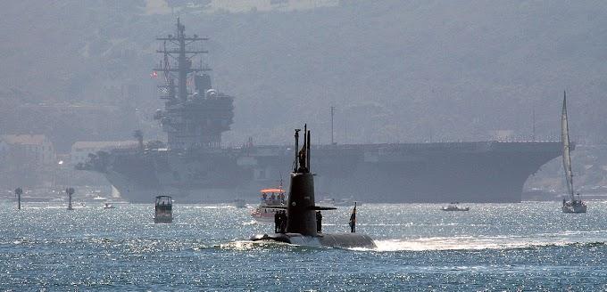 Quando a Suécia mandou o USS Ronald Reagan para o fundo do mar