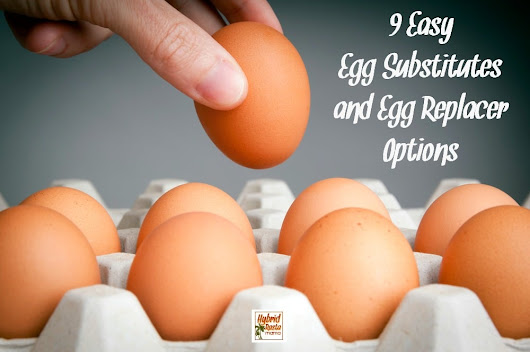 9 Easy Egg Substitutes and Egg Replacer Options