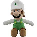 """Super Mario Fire Luigi 9"""" Plush Toy"""