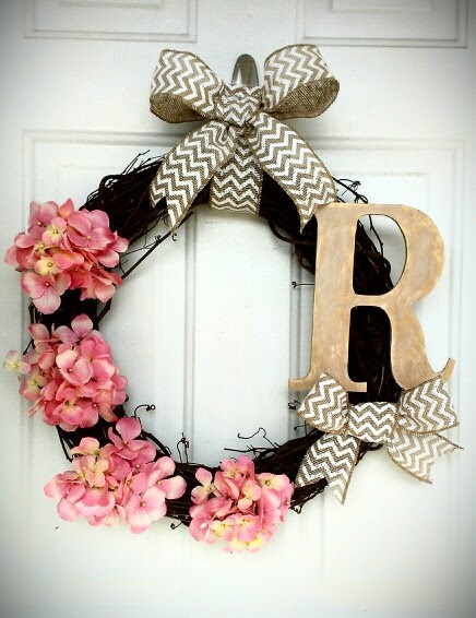 Summer wreath I made for my front door :-)