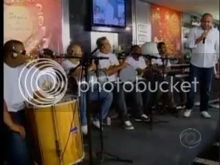SAMBA DE PRIMEIRA NA TV CNT