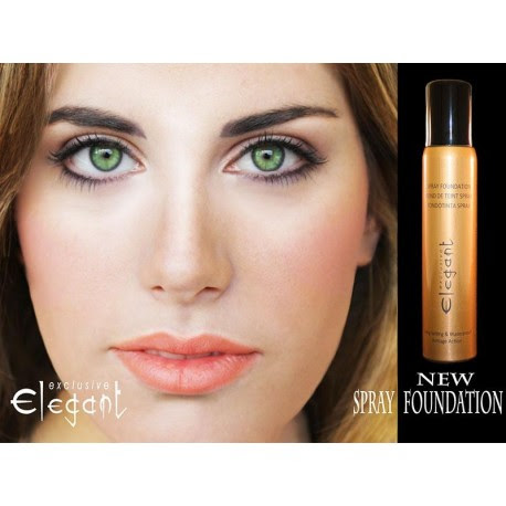 SPRAY FOUNDATION EXCLUSIVE ELEGANT