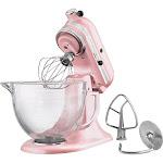 KitchenAid - Artisan Design Series Tilt-Head Stand Mixer - Silk Pink