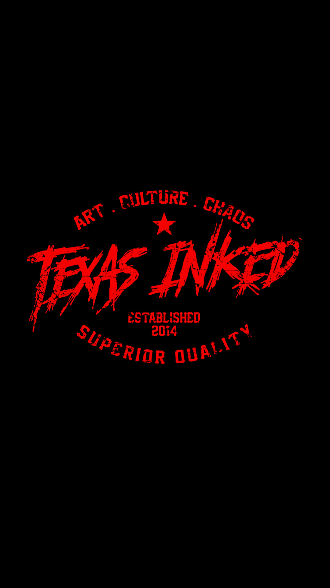 Red Black Iphone 6 7 Wallpaper Texas Inked