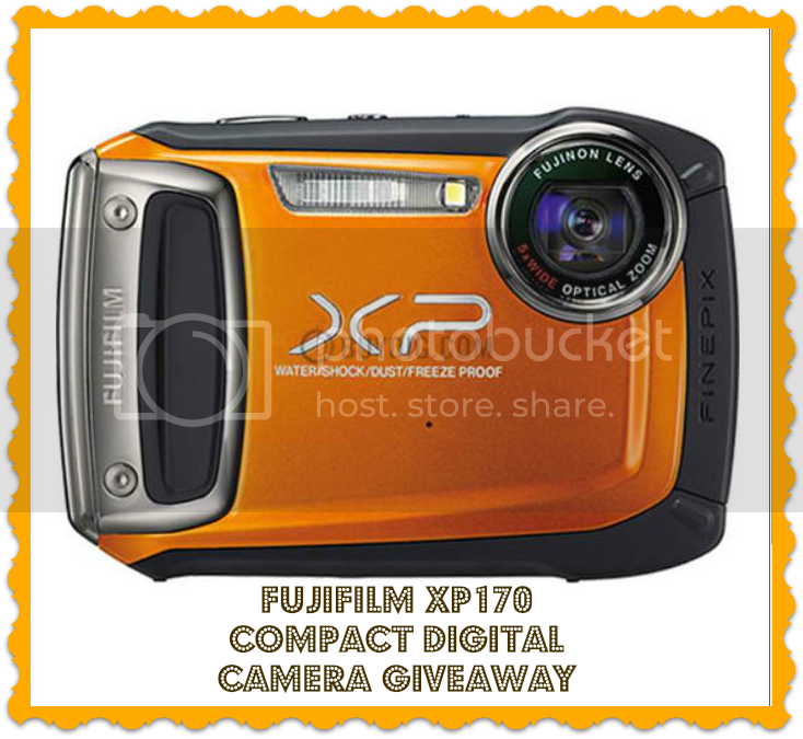 Sign up for the FujiFilm XP170 Compact Digital Camera Blogger Opp. Event starts 12/3.