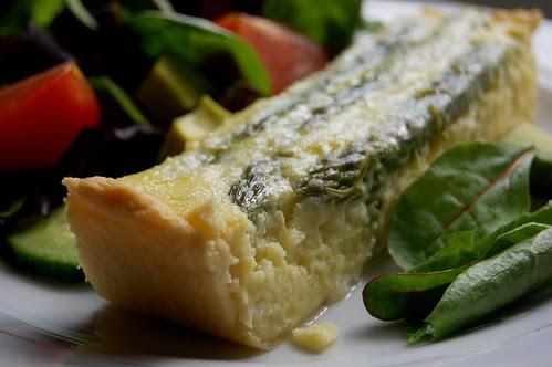 asparagus & potato tart 3