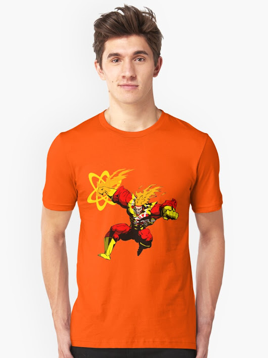 'Firestorm Overpower' T-Shirt by rogercorp