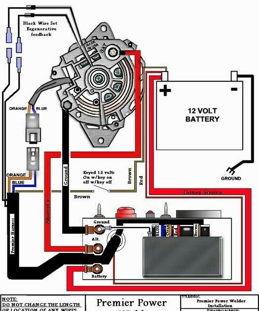 Alternator Welder Wiring Diagram