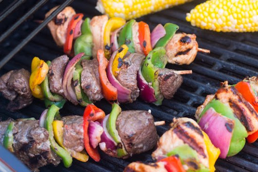 How To Grill Kabobs - Grilling24x7