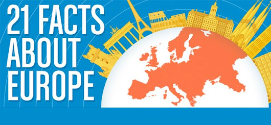 Infographic: 21 facts about Europe | Man vs World