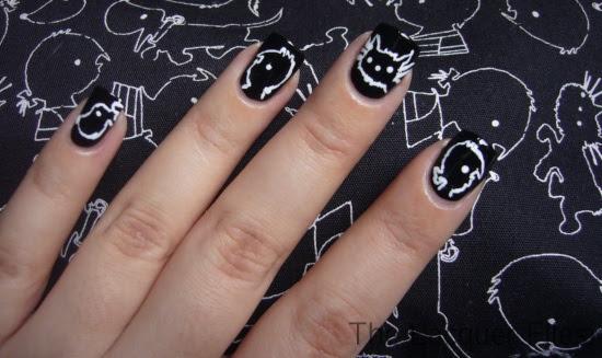 Jip en Janneke Children's Book Nail Art Design