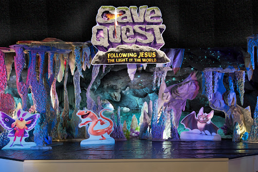 Cave Quest Decorating - Group Children's Ministry